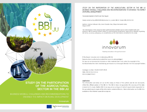 Study on the participation of the agricultural sector in the BBI JU