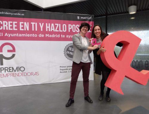 "Innovarum, winner of the Prize ""Premio Emprendedoras 2019"""