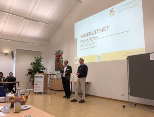 Innovarum at the Biofruitnet Kick-off Meeting